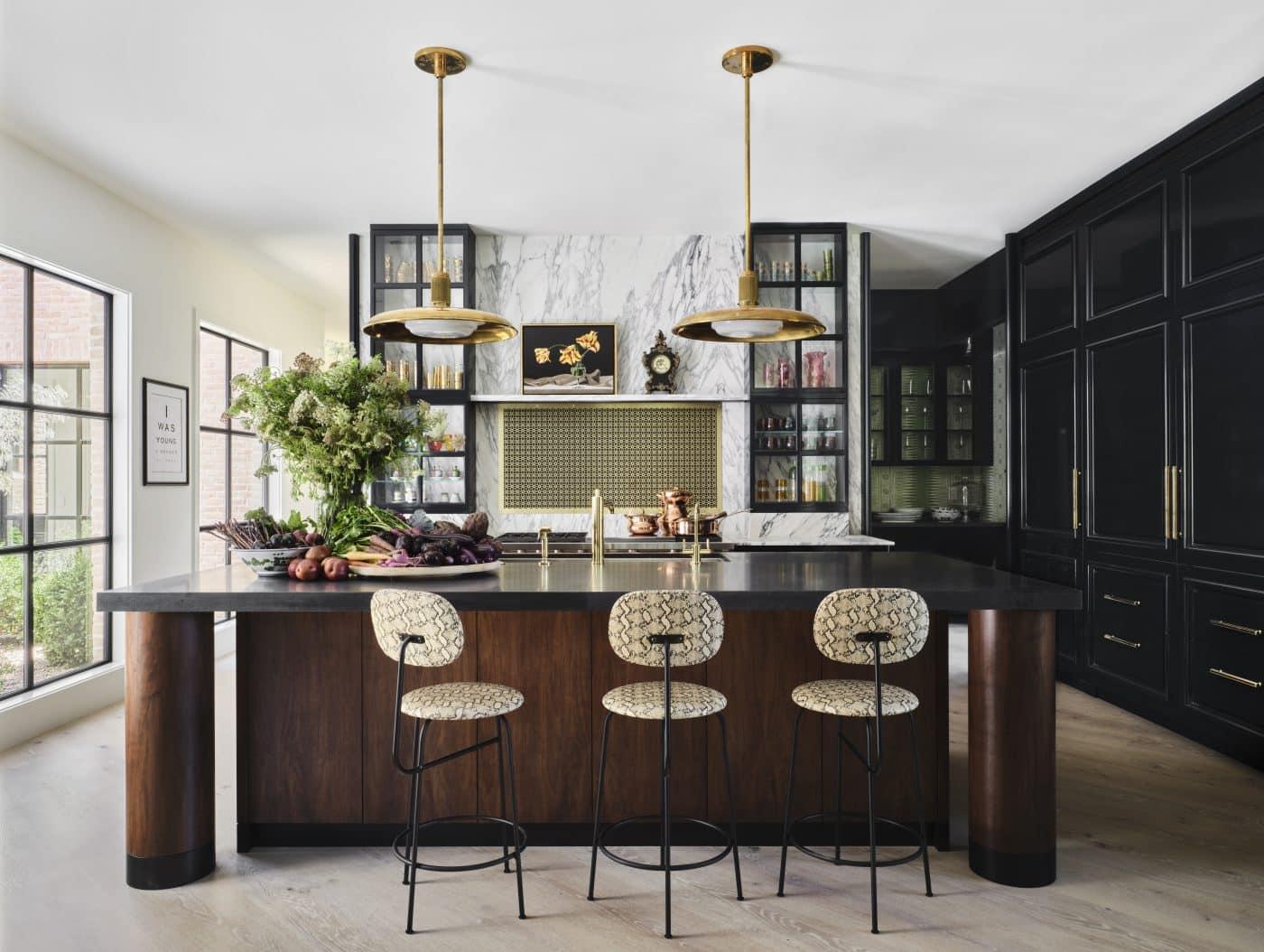 Fern Santini Austin house kitchen