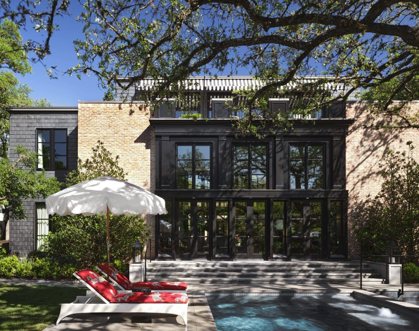 Fern Santini Austin house exterior