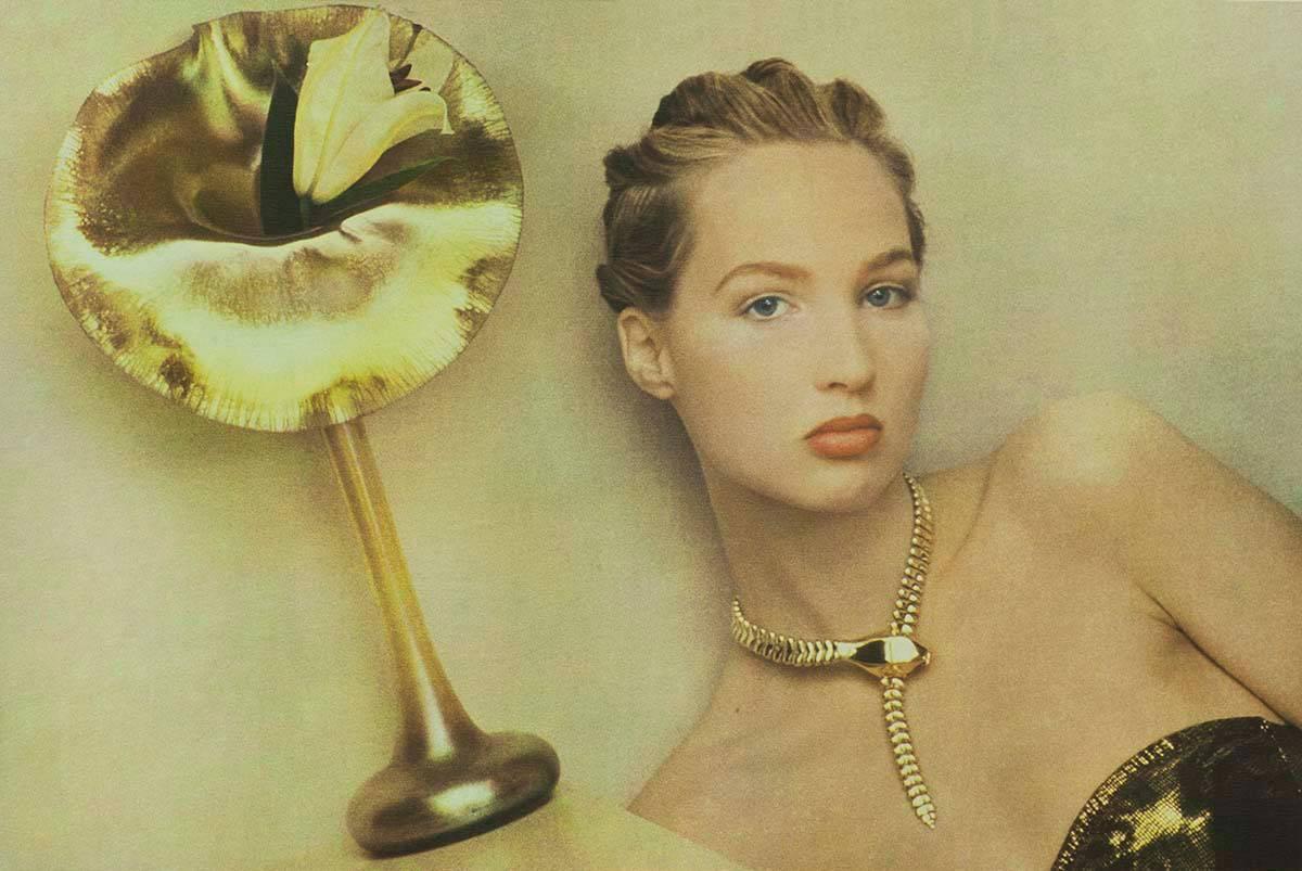 REBECCA, TIFFANY VASE, 1987, BY SHEILA METZNER