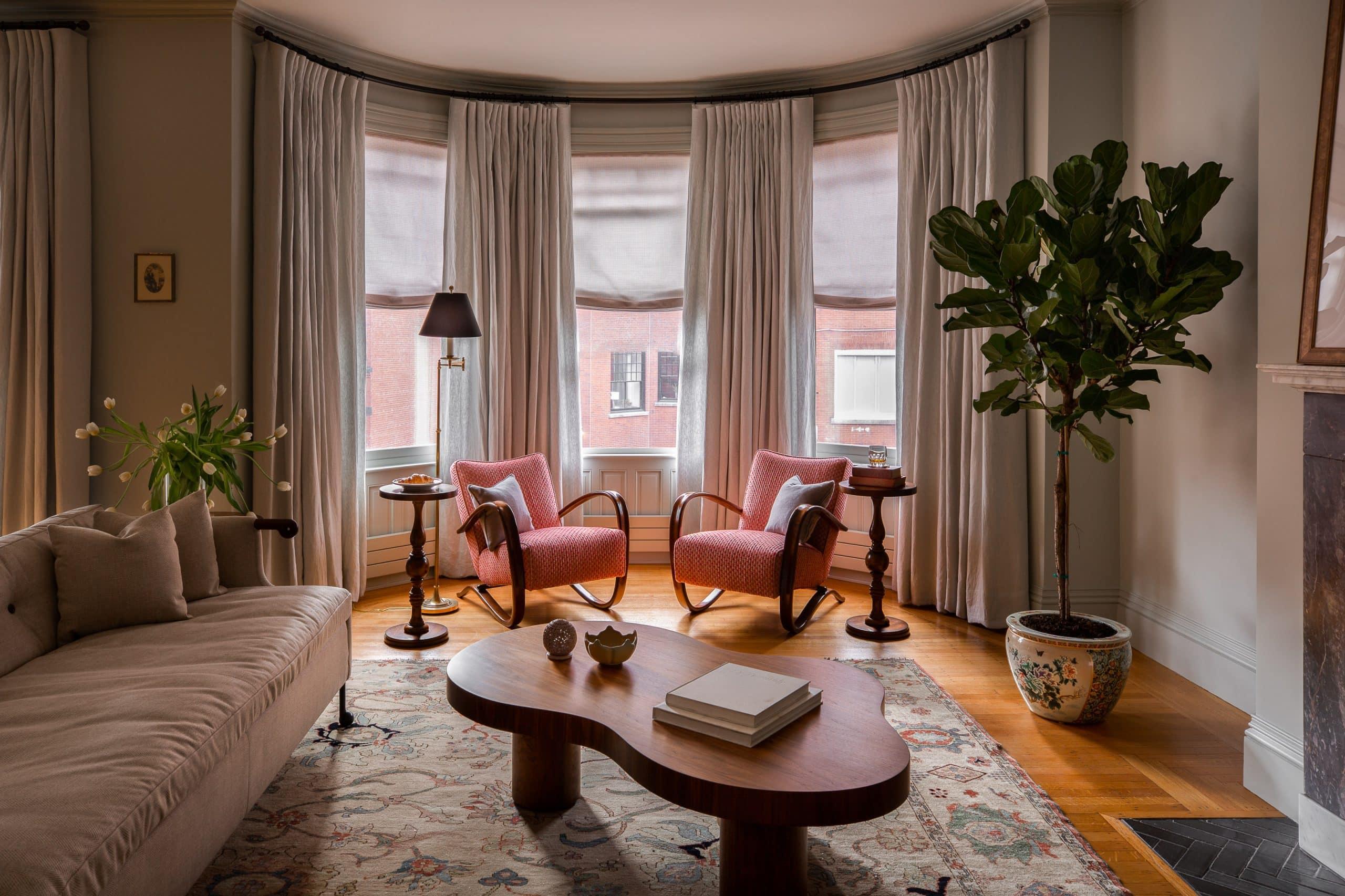 Jae Joo Boston living room