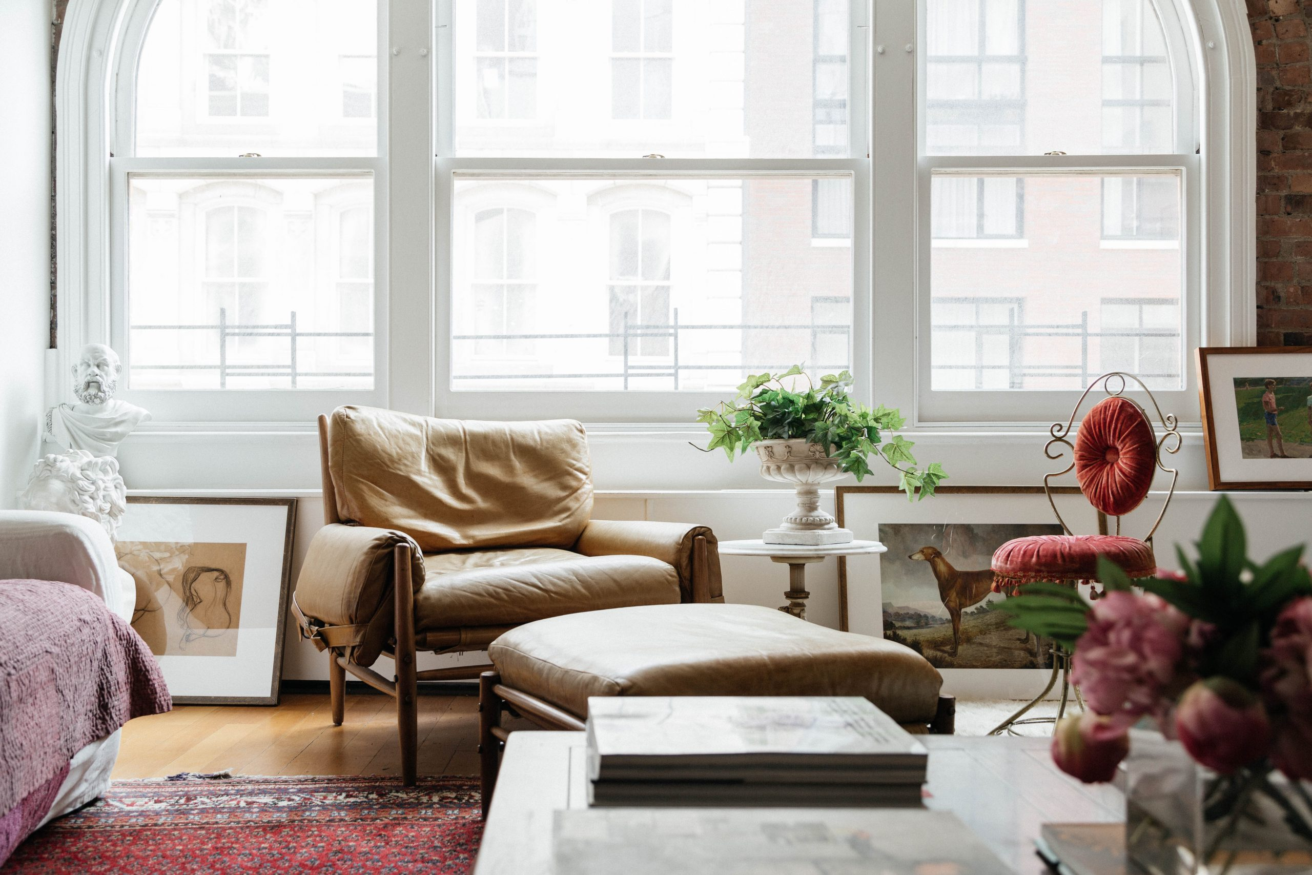 Jae Joo Tribeca loft living room