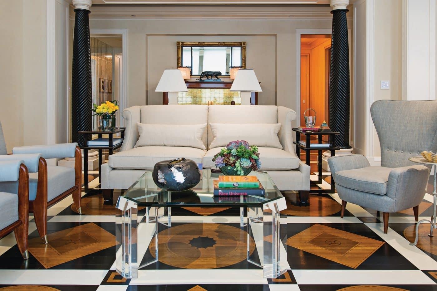 Bunny Williams living room