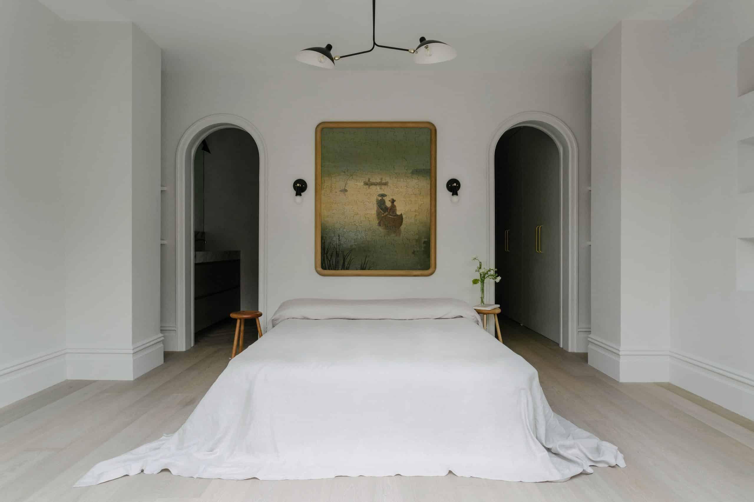 Jae Joo brownstone bedroom