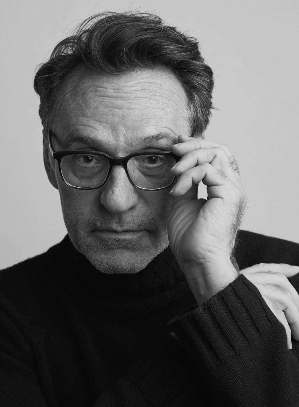Gallery owner Christophe Guye
