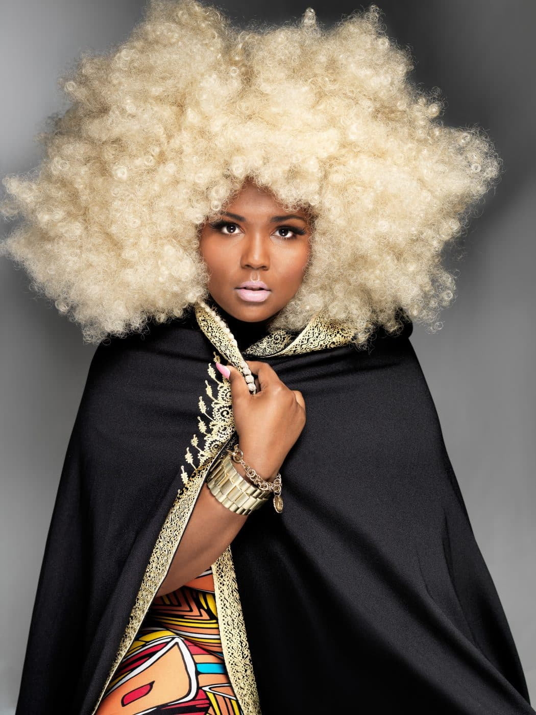 Lizzo wearing a 1970s Moroccan caftan sourced from Evolution