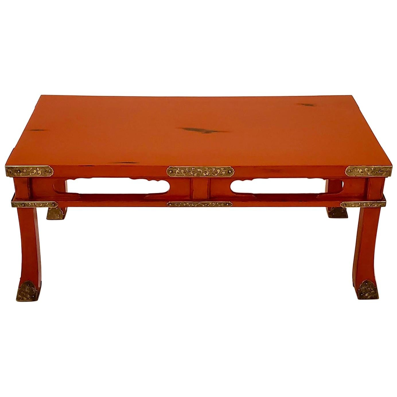 Japanese lacquer table