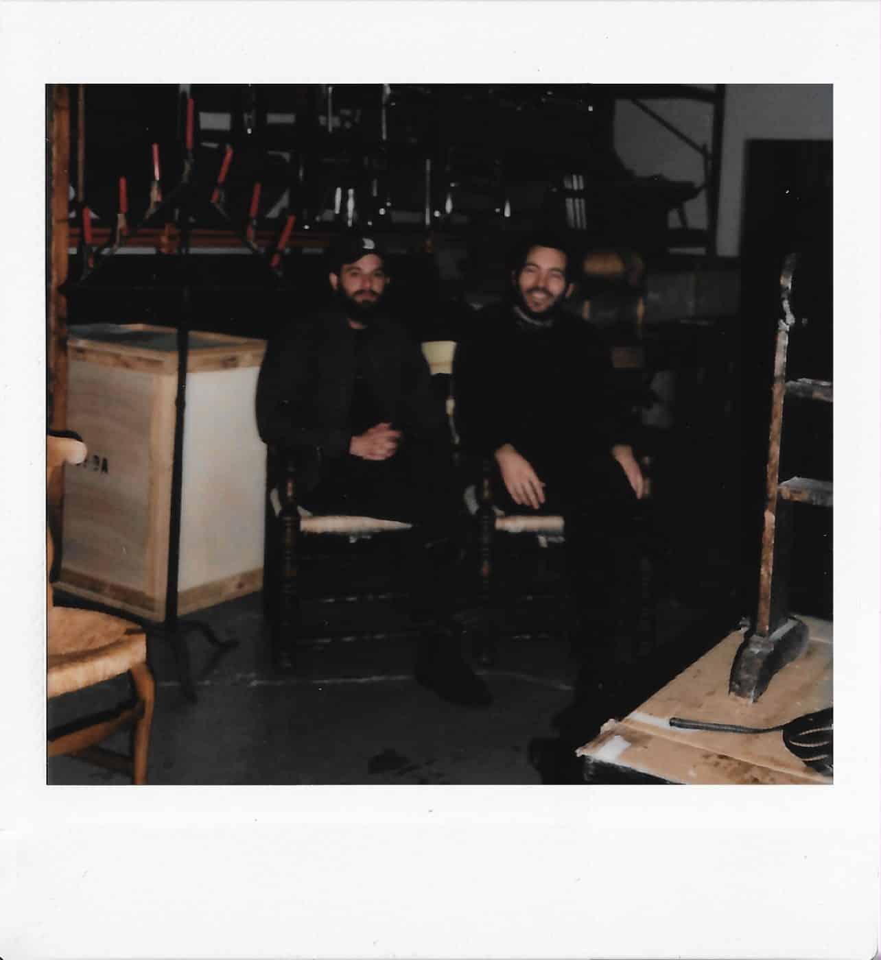 DADA STUDIOS founders Marc Esteller (left) and Adrian Agudo