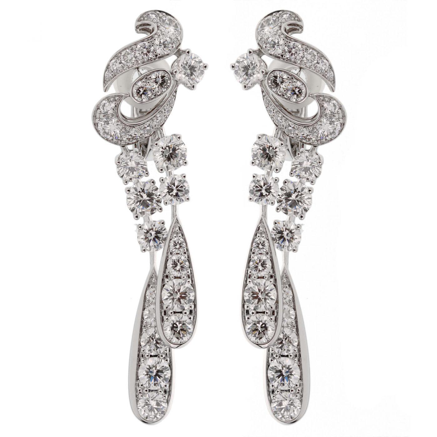 Graff Magnificent Chandelier Diamond Drop Earrings