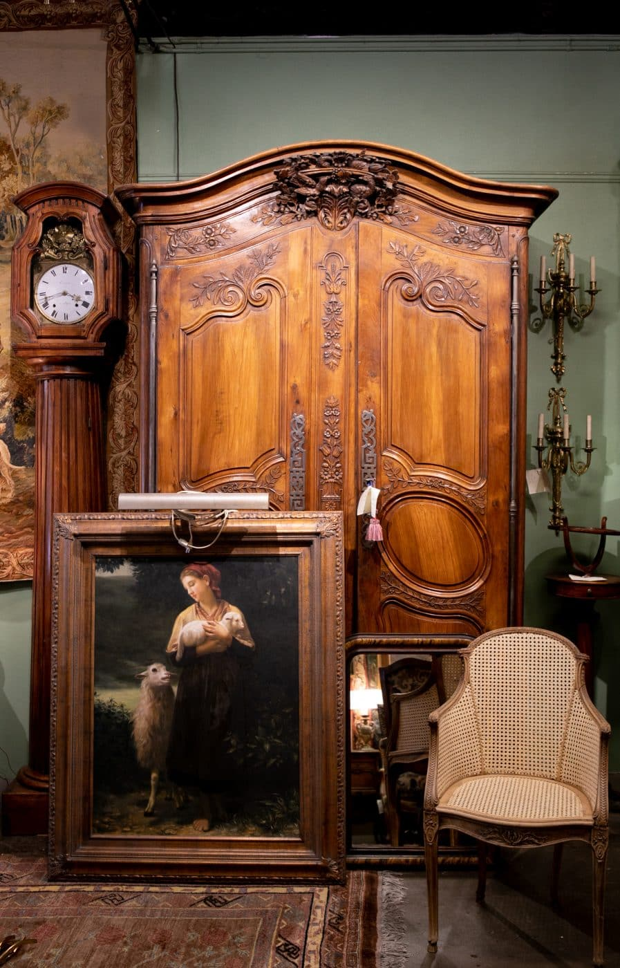 18th-century wedding armoire from Provence