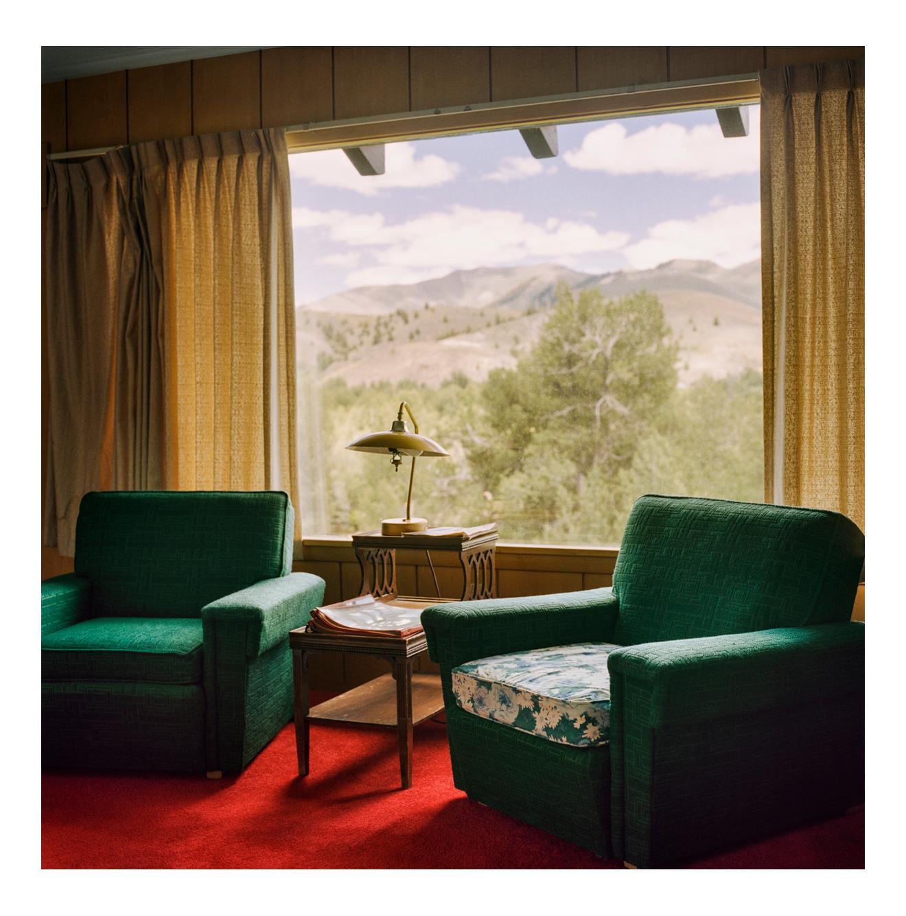 At Ernest Hemingway's House, Ketchum, Idaho, 1 July 2011, 2020, by Jonathan Becker