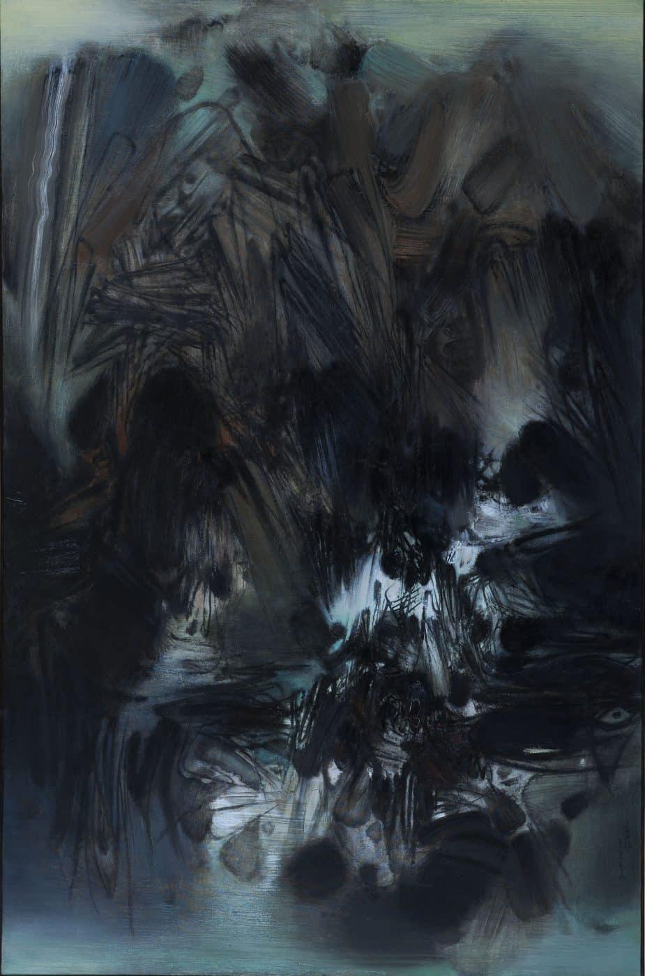Composition 228, 1966, by Chu Teh-Chun