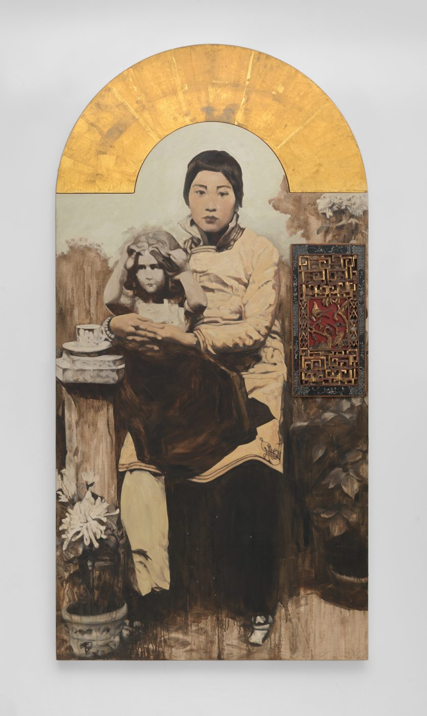 Madonna, 1992, by Hung Liu