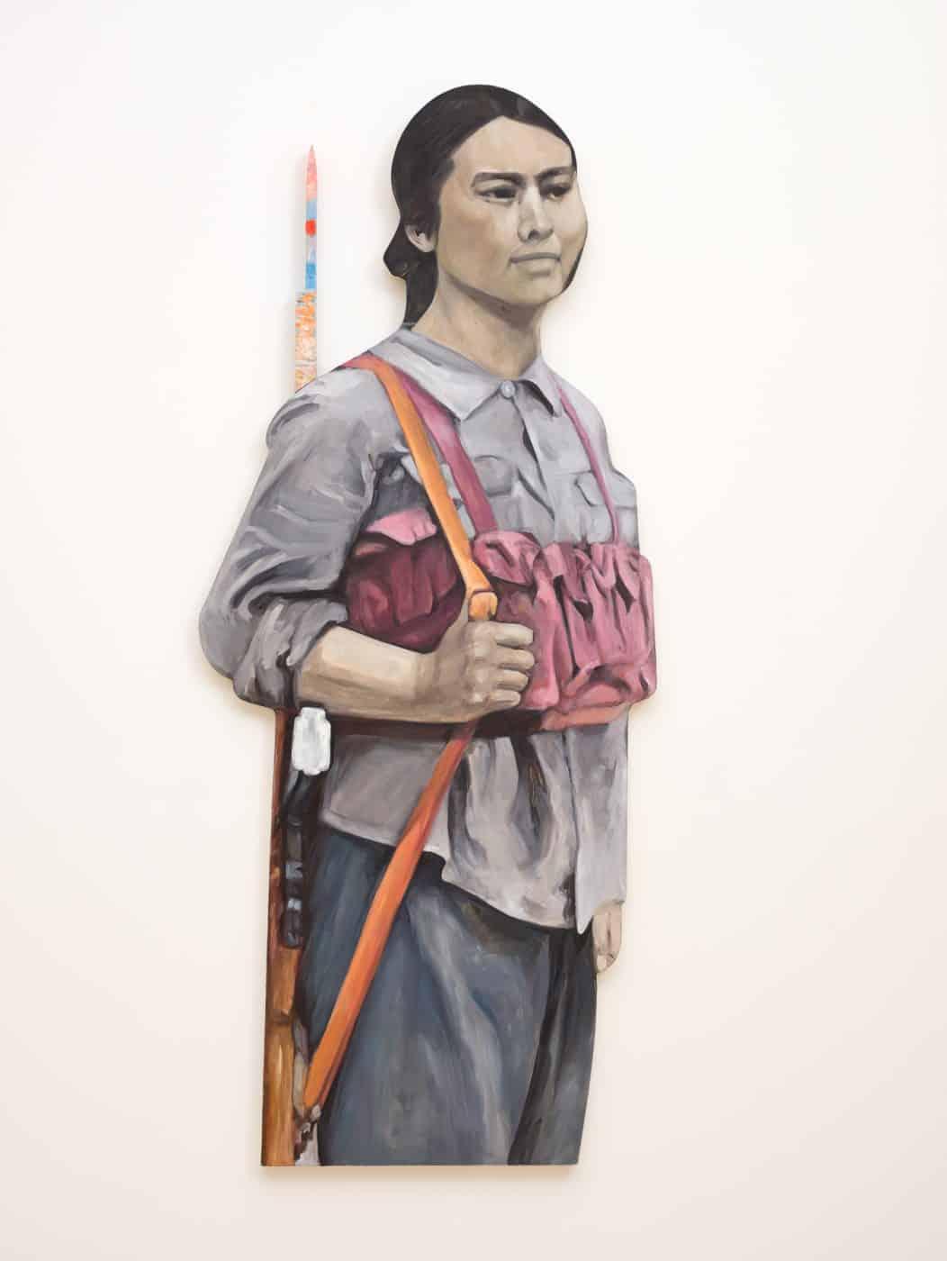 Avant-Garde, 1993, by Hung Liu