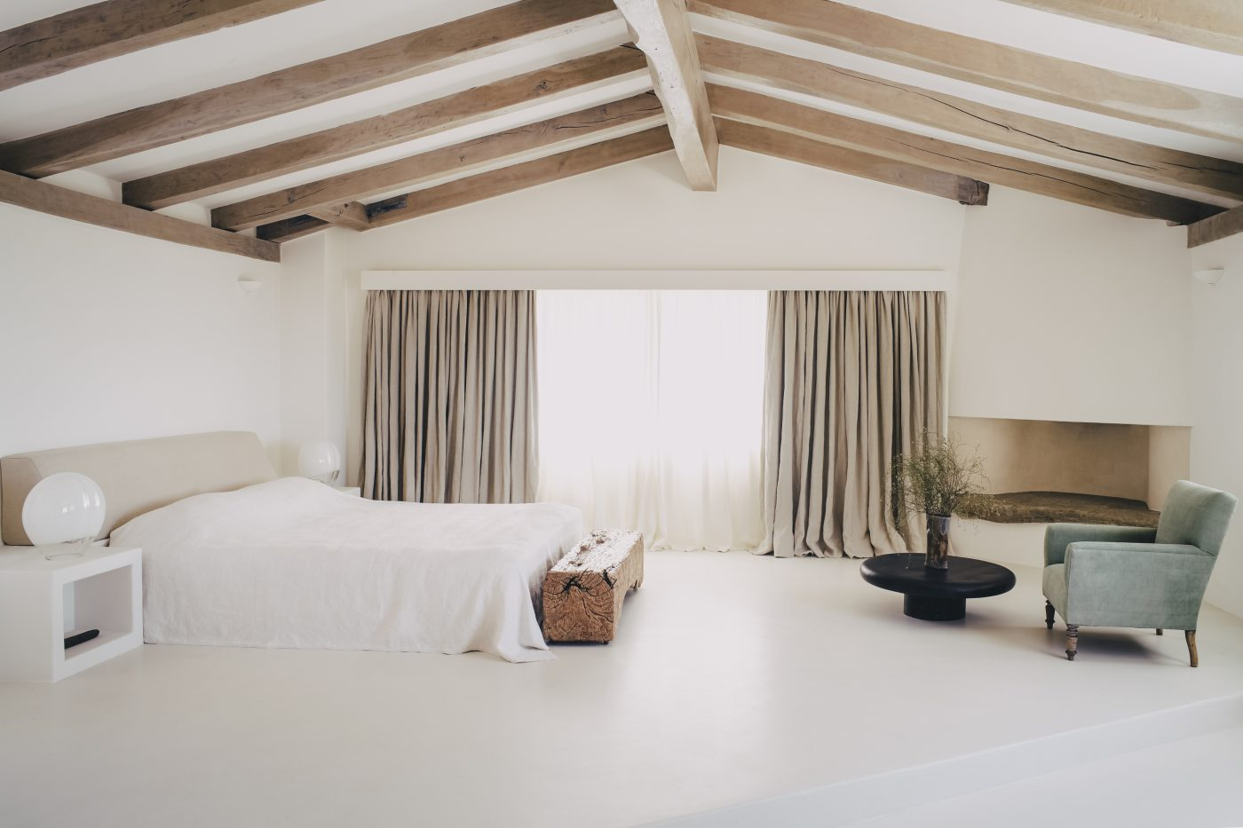 Bedroom designed by Hollie Bowden