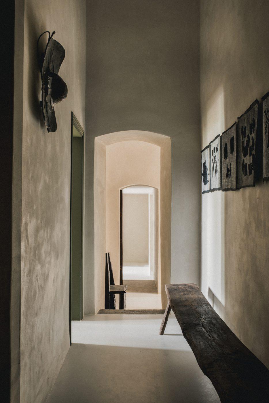 Hallway space designed by Hollie Bowden