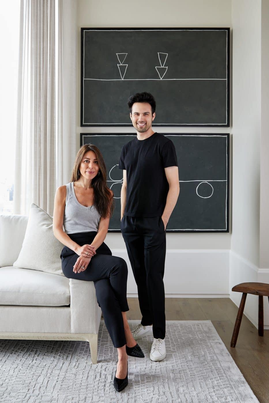 Portrait of Grisoro Studio's Gabriela Gargano and Kyle McVey