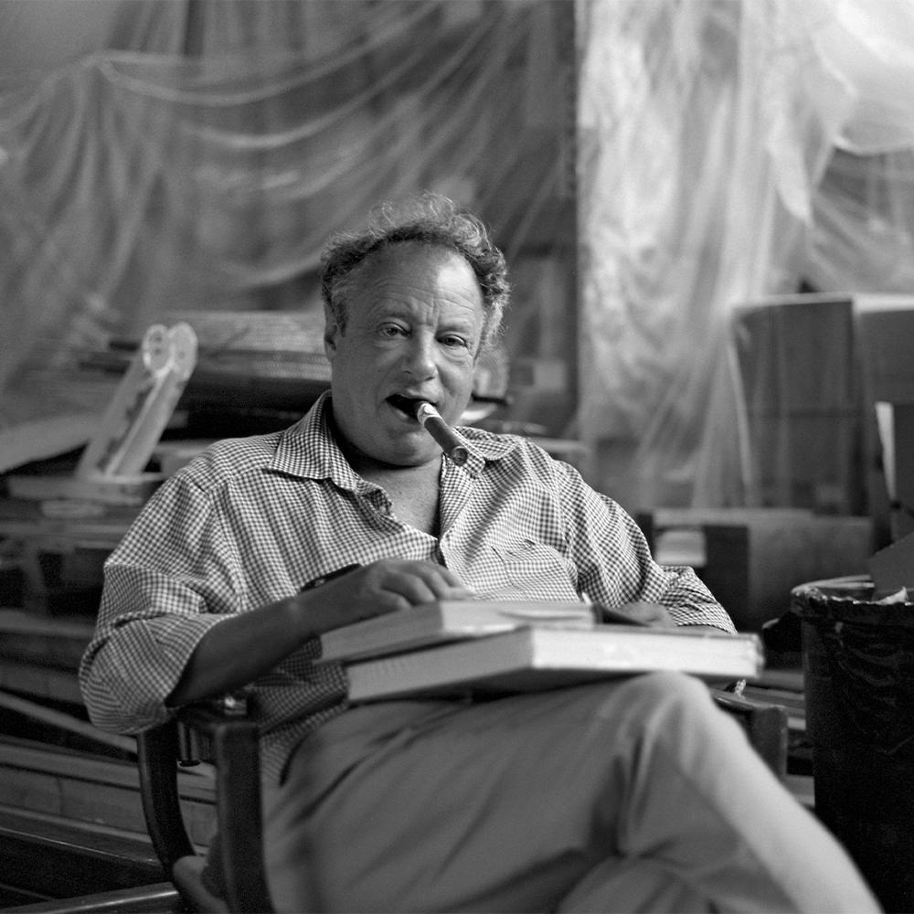 Photographer Jonathan Becker in his Bedford Hills, New York, studio.
