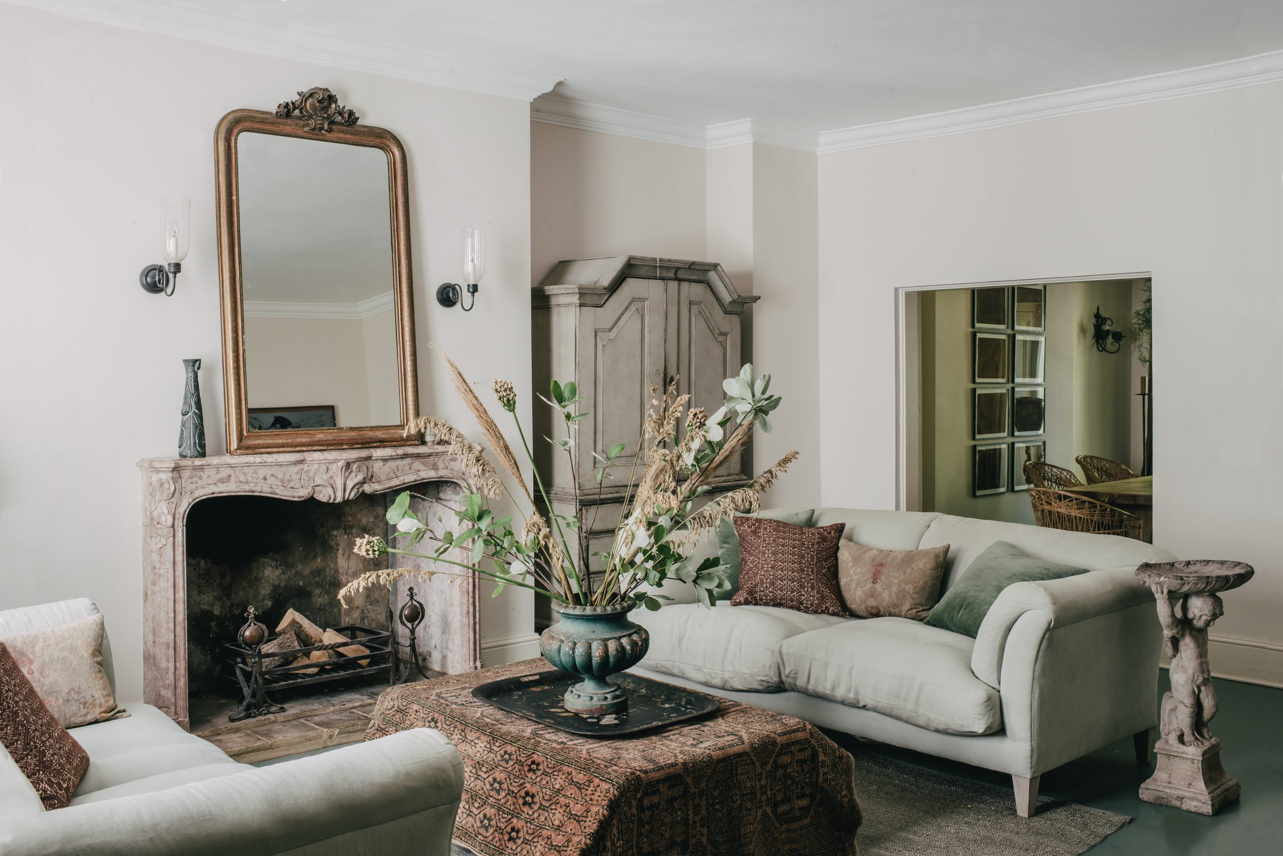 Living room designed by Hollie Bowden