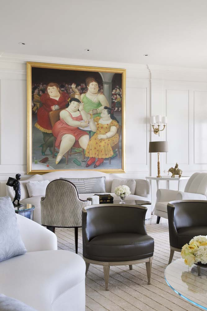 Living room designed by Mary McDonald