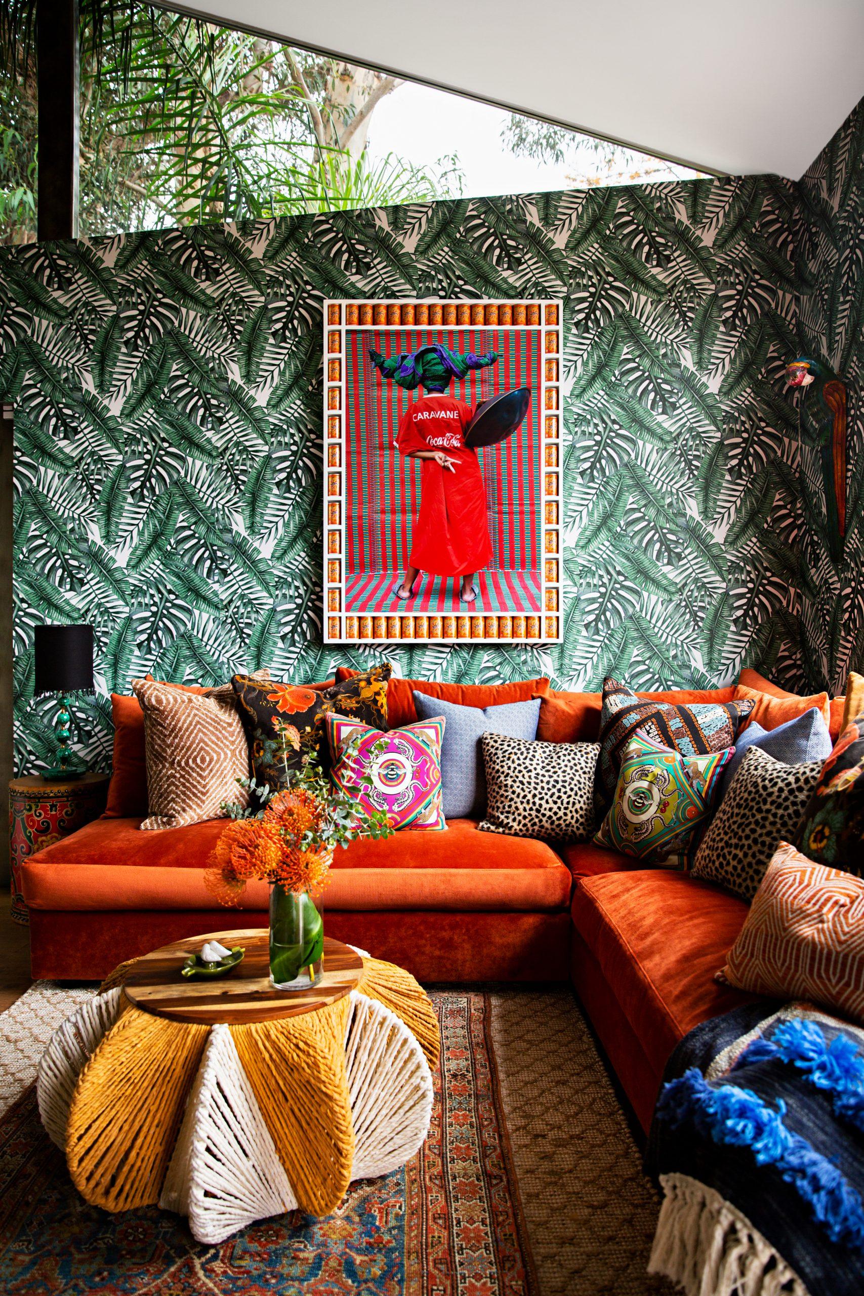 Living room designed by Peti Lau