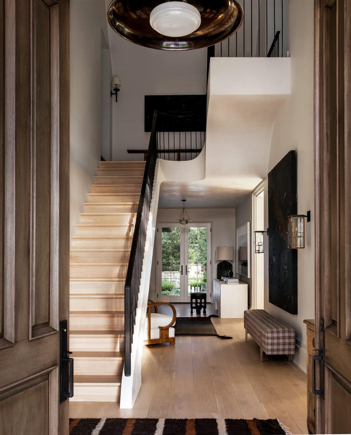 Foyer designed by Sean Anderson