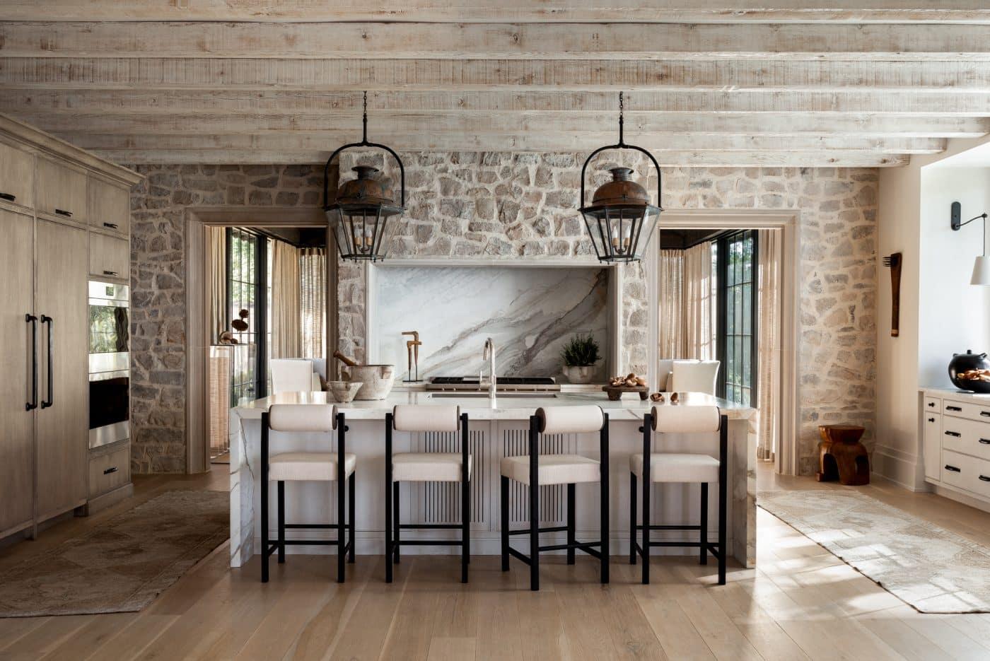 Kitchen designed by Sean Anderson
