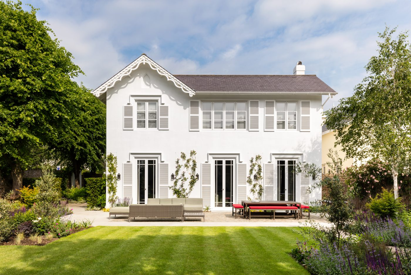 Exterior of a London home by Carden Cunietti