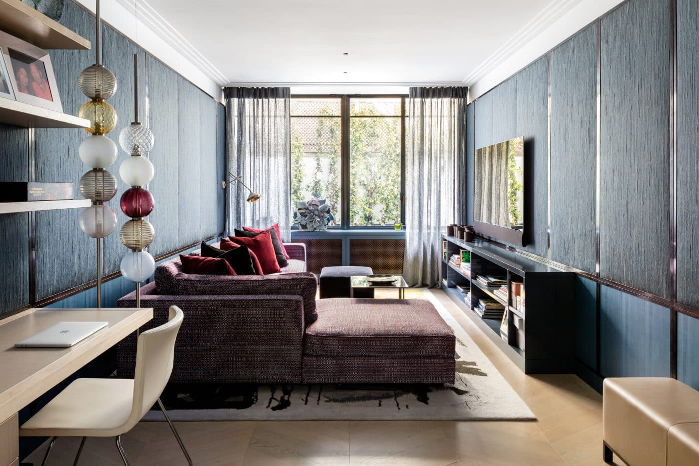 Another study in the London home designed by Carden Cunietti