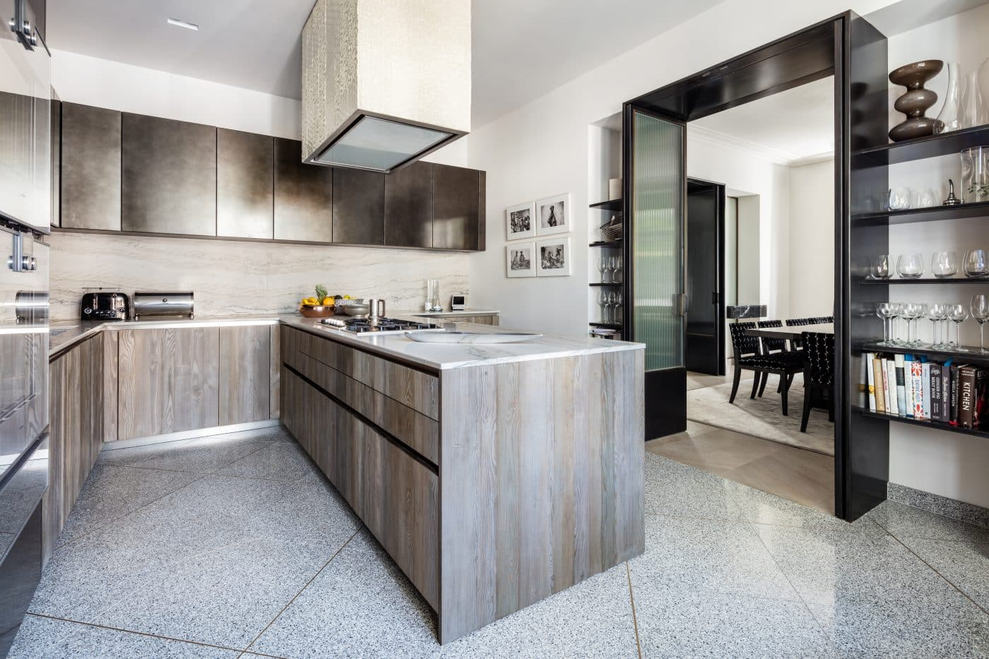 Kitchen of the London home