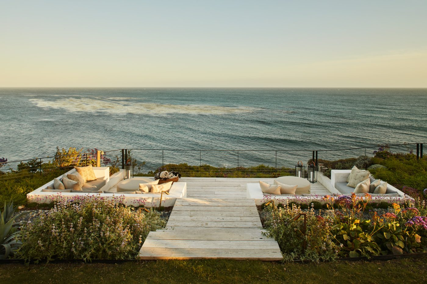 Beach overlook deck designed by Alexander