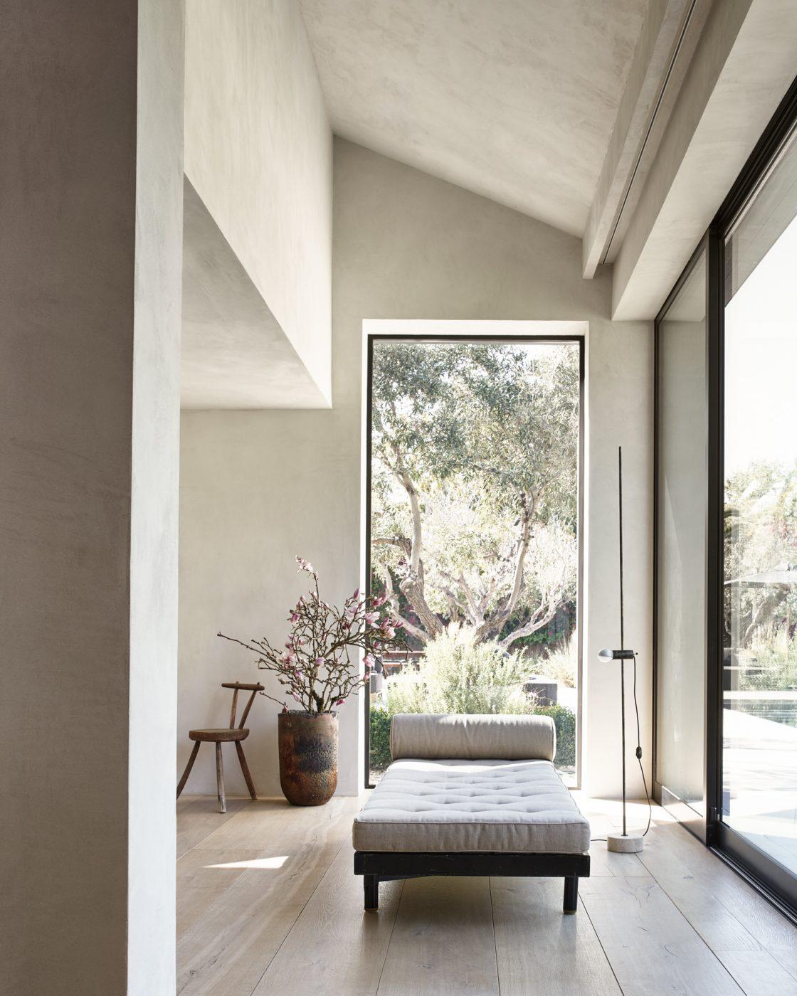 Sitting area in a Malibu home