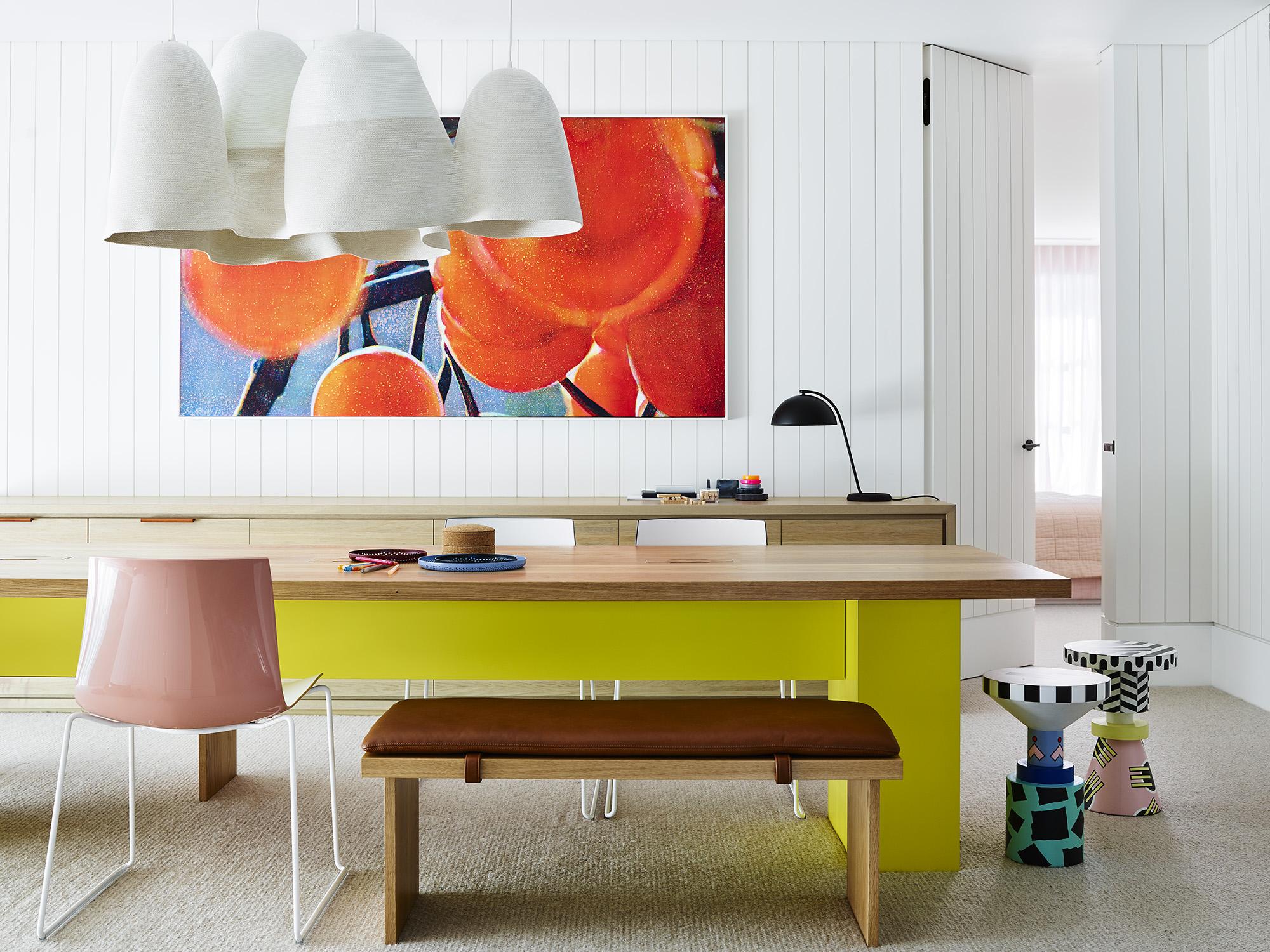 Art room designed by Decus Interiors