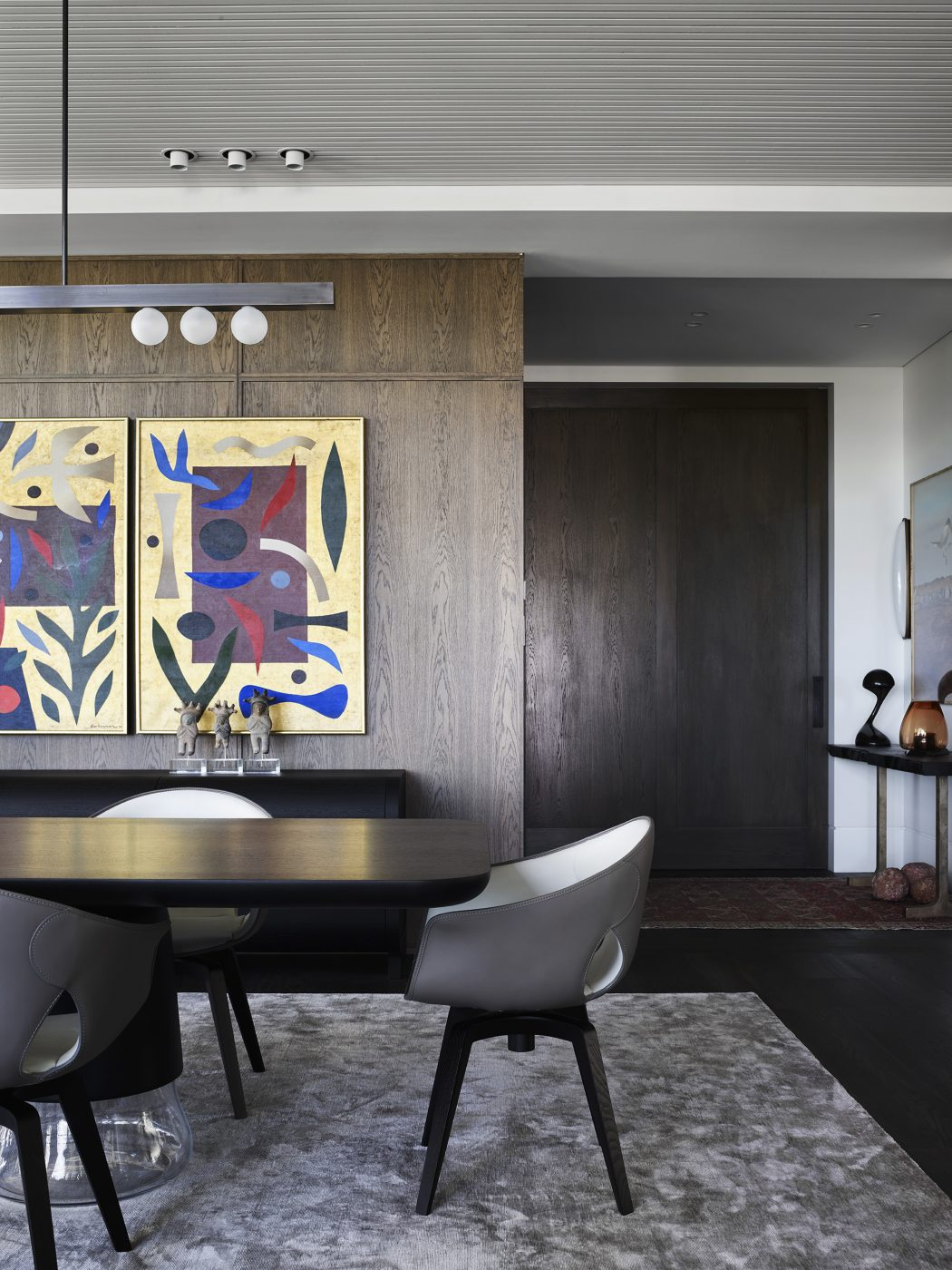 Dining room designed by Alexandra Donohoe Church