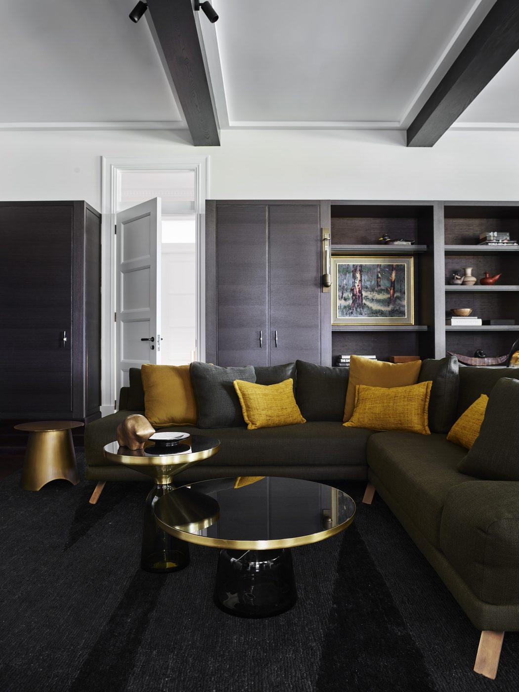 Living room designed by Alexandra Donohoe Church