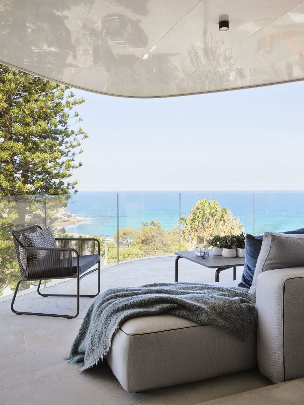 Outdoor space designed by Decus Interiors