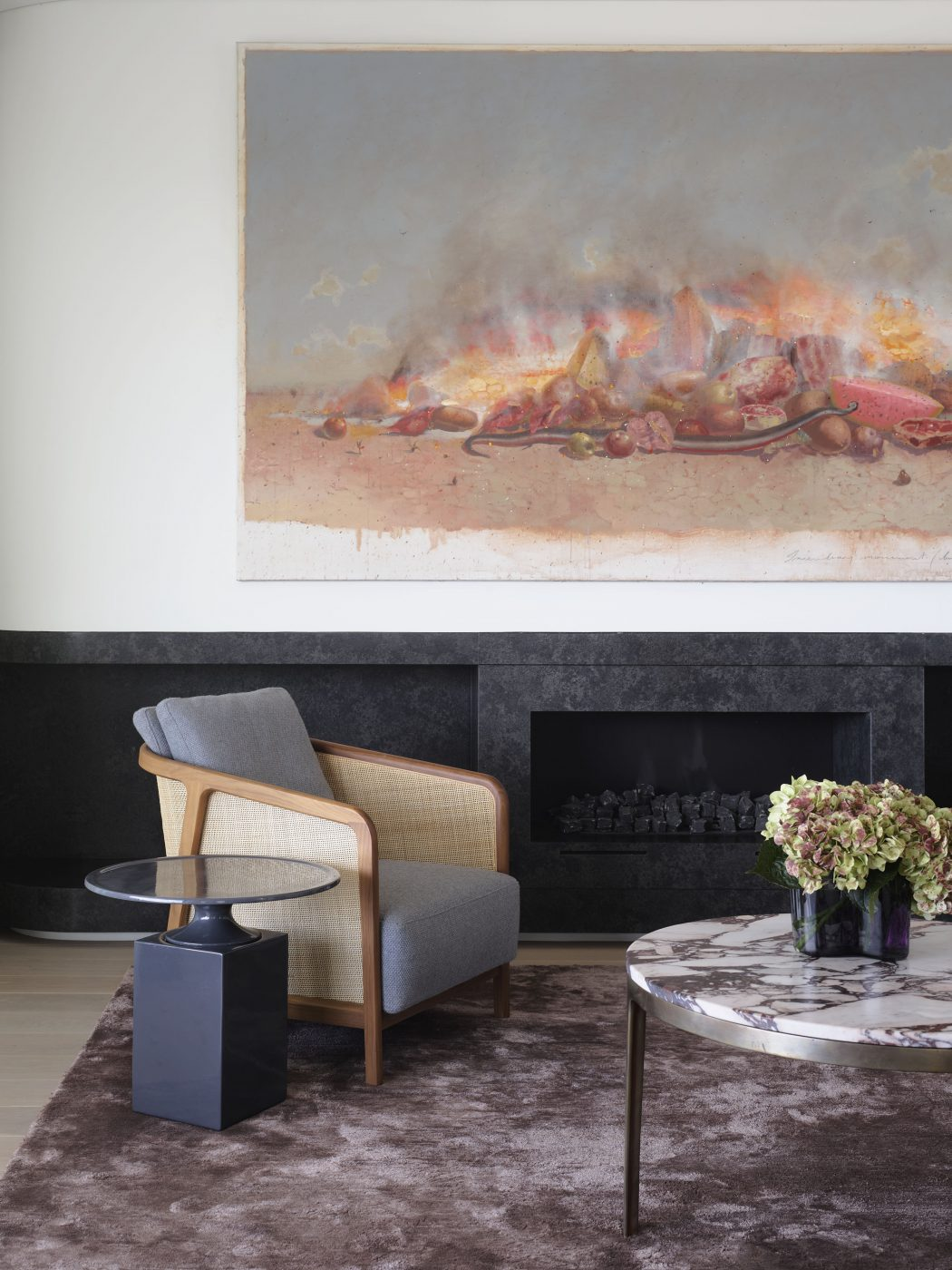 Living room space designed by Decus Interiors