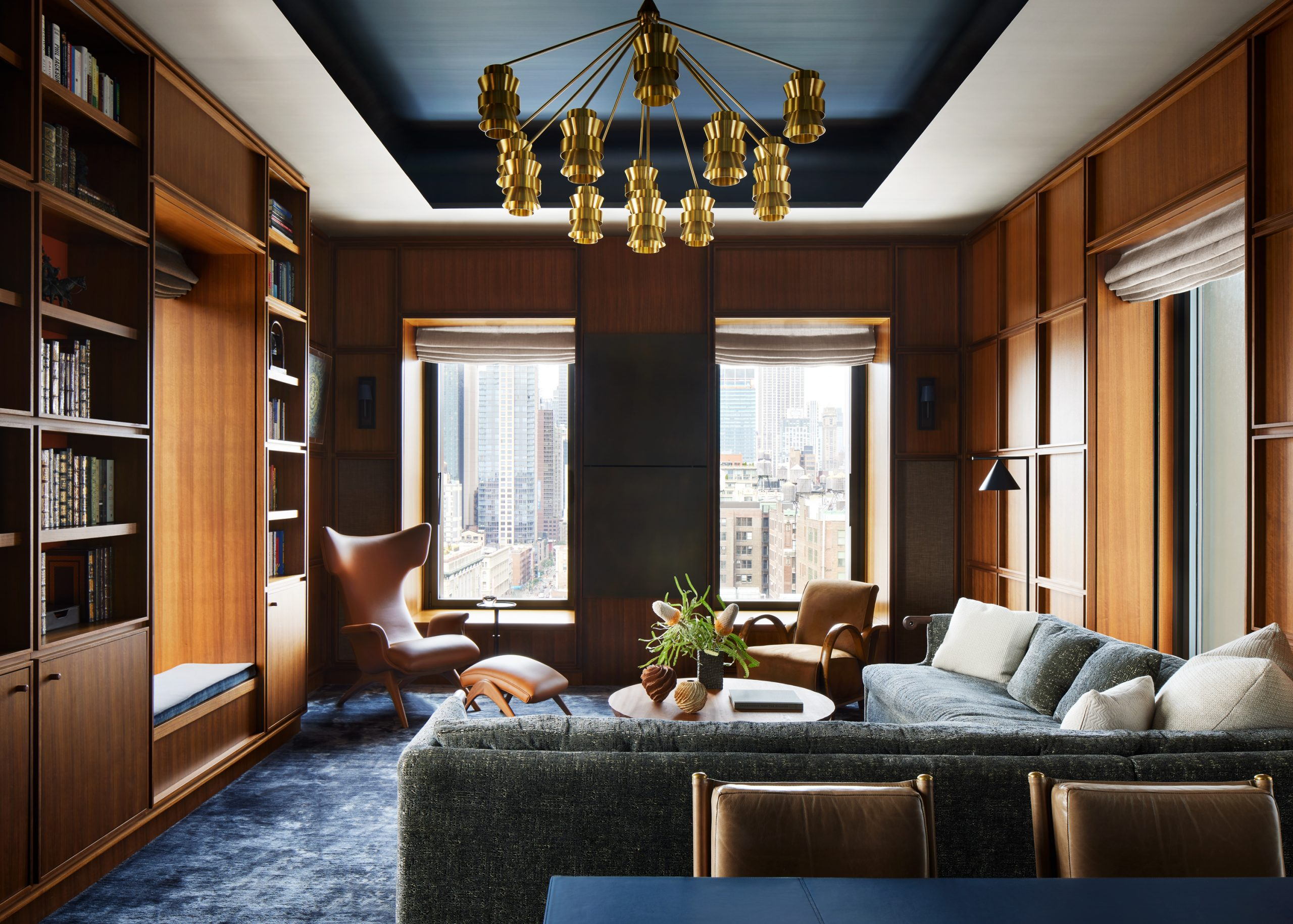 Living room designed by DHD
