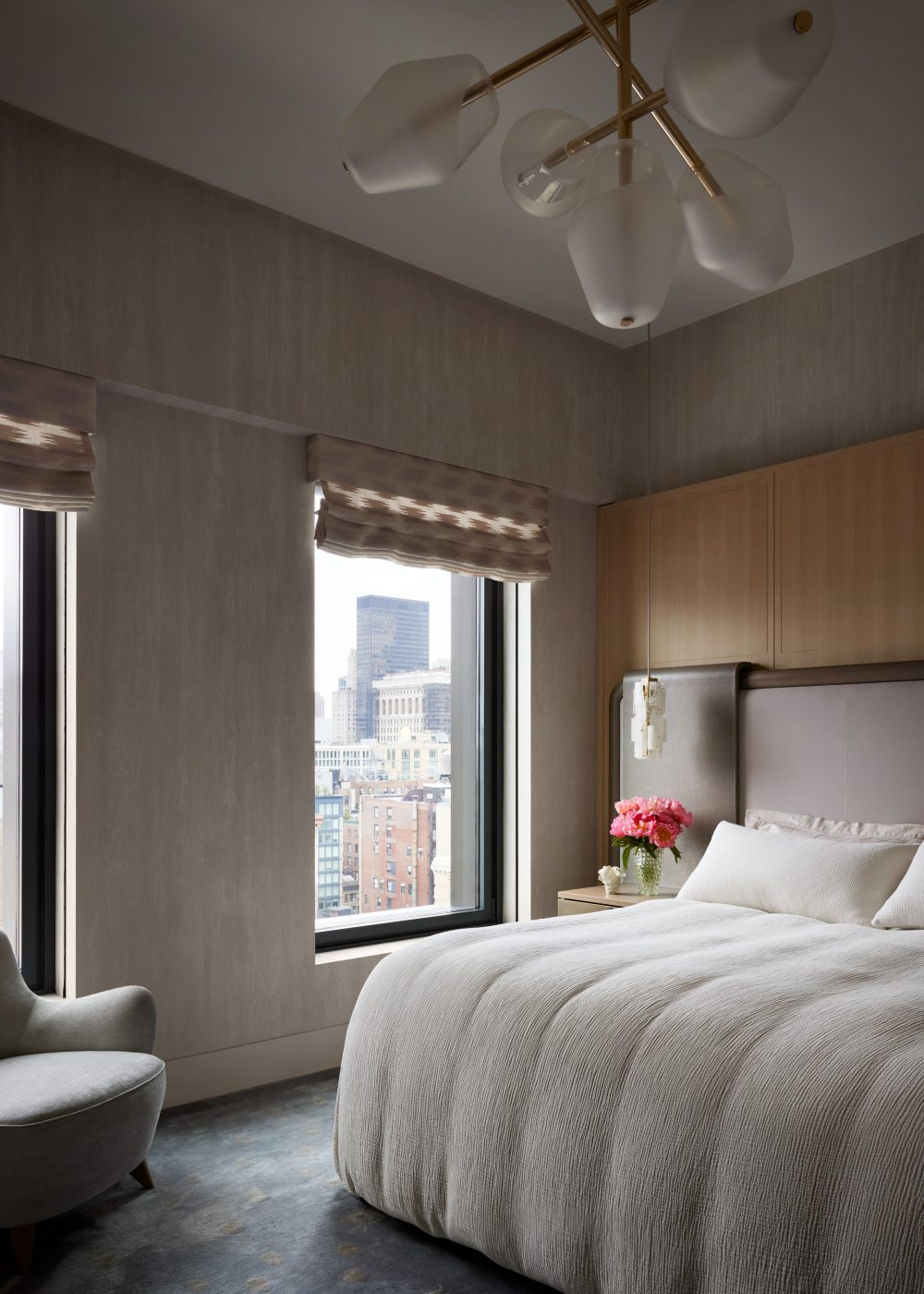 Bedroom designed by DHD