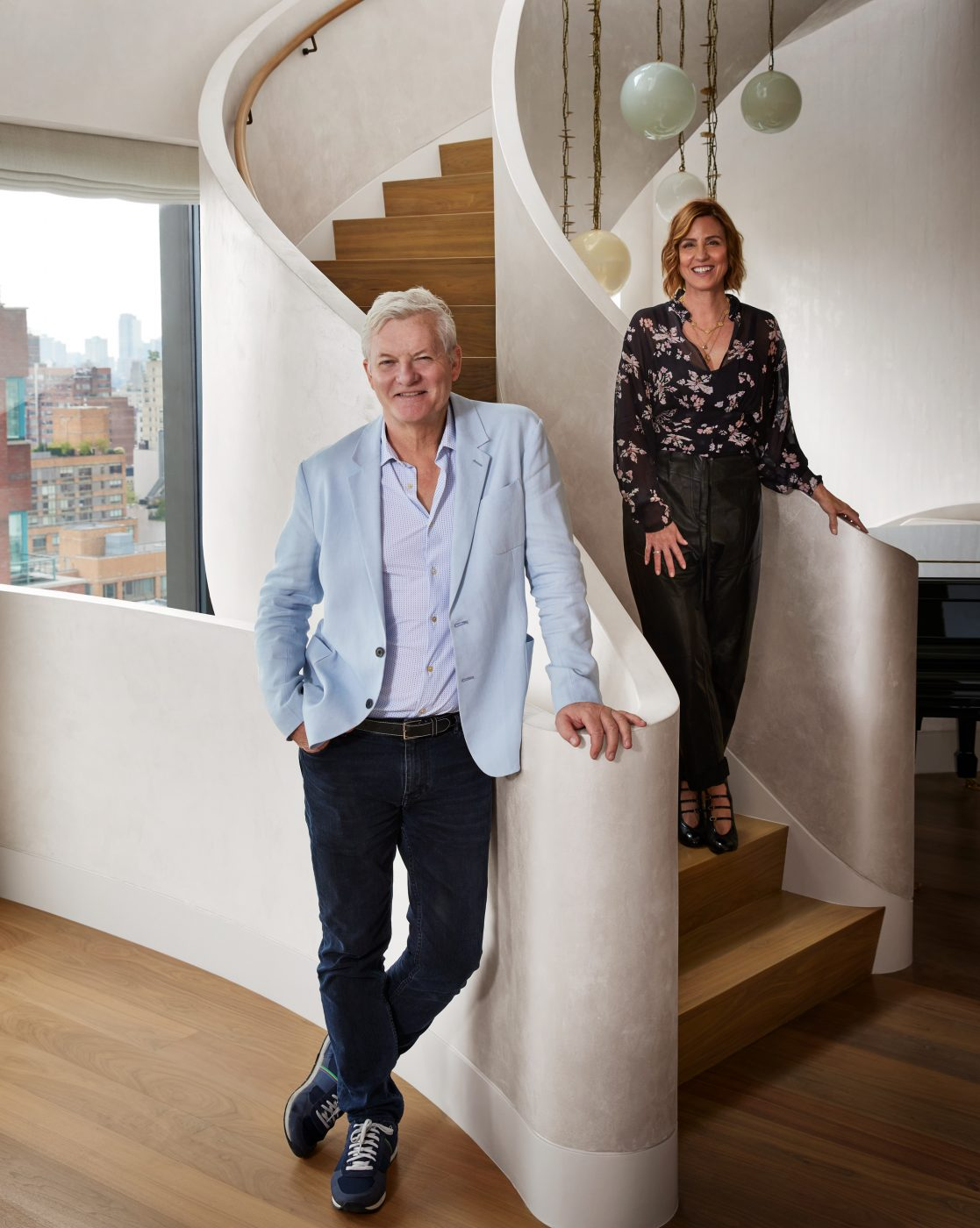 Portrait of David Howell and Steffani Aarons of DHD Architecture and Interior Design