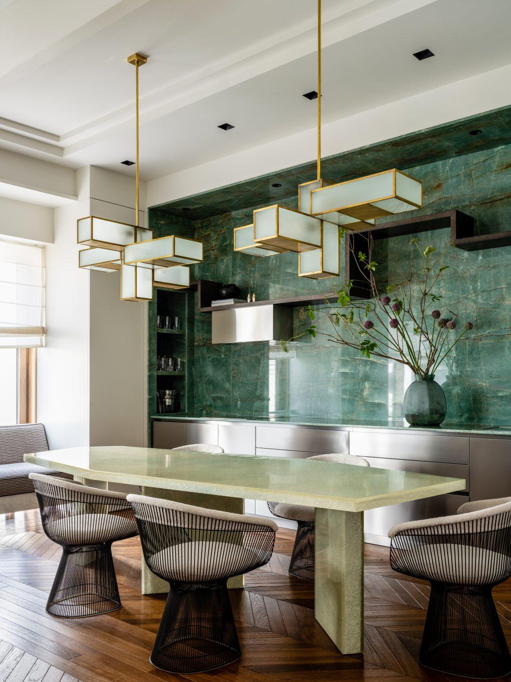 Dining room designed by Malyeva