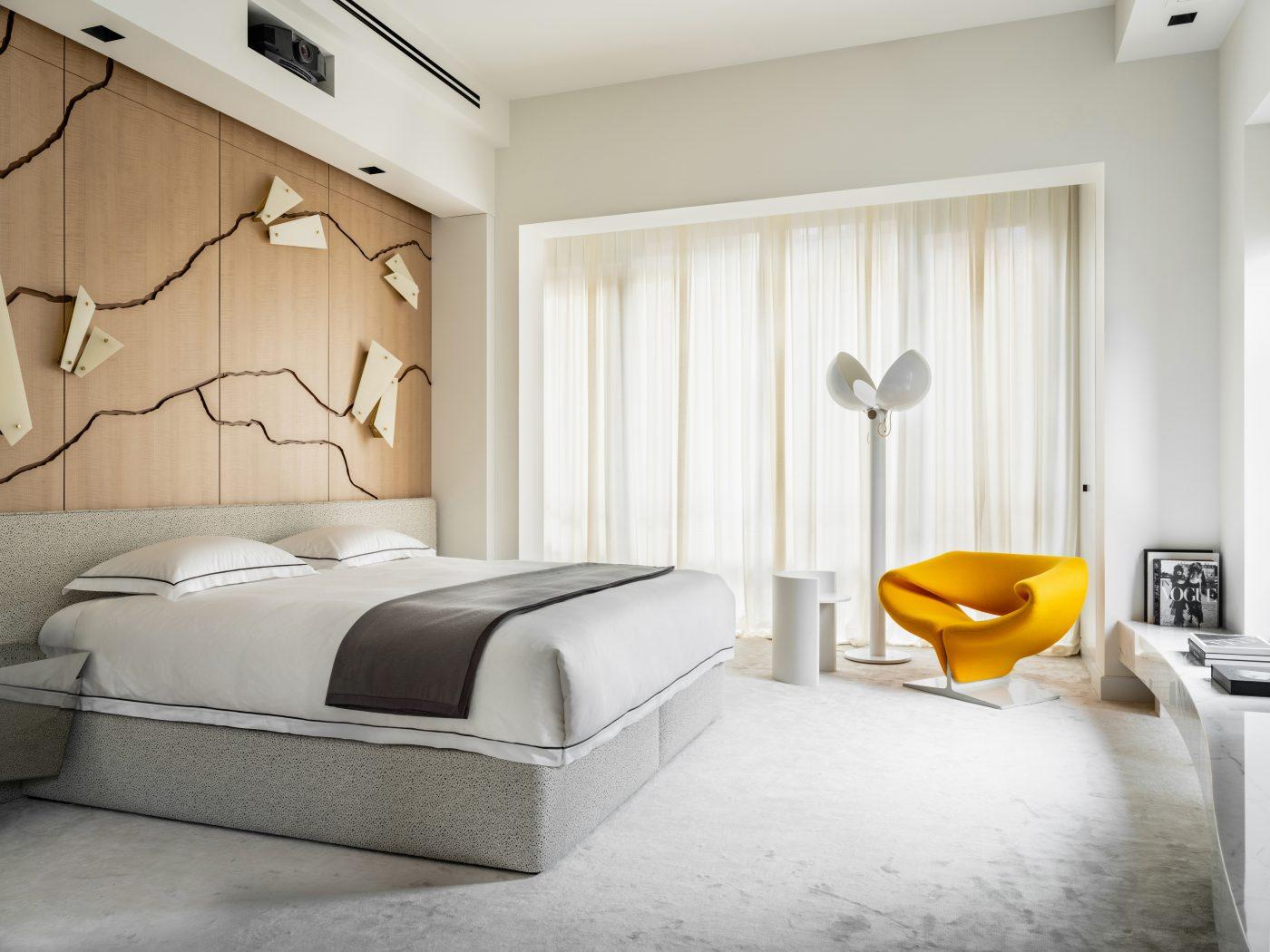 Bedroom designed by Malyeva