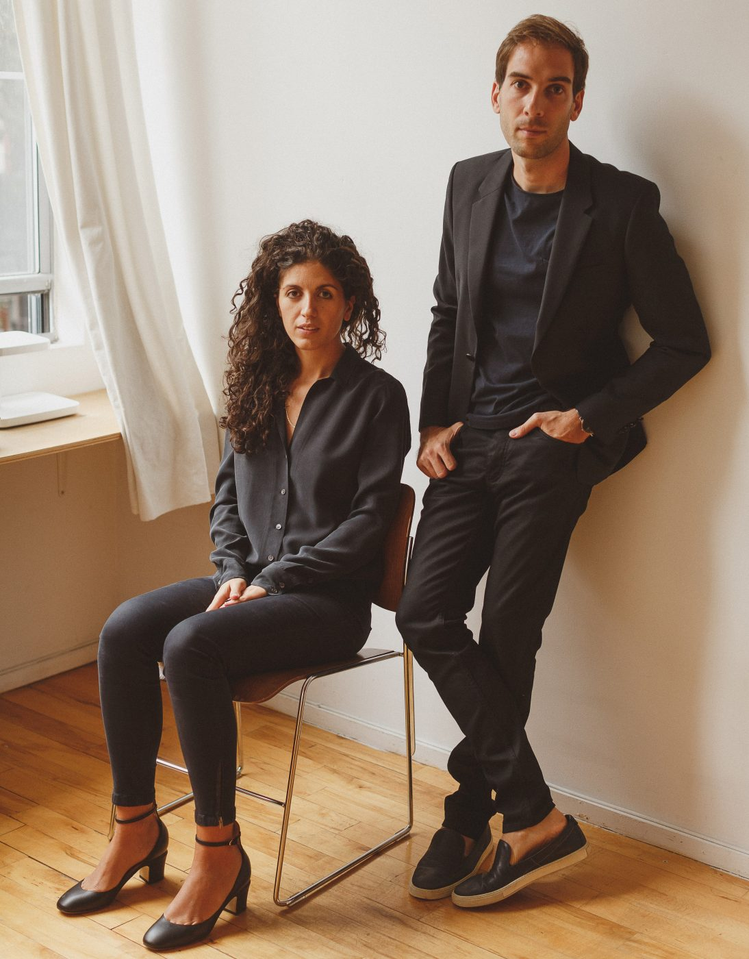 Portrait of Eleni Petaloti and Leonidas Trampoukis, the duo behind Objects of Common Interest