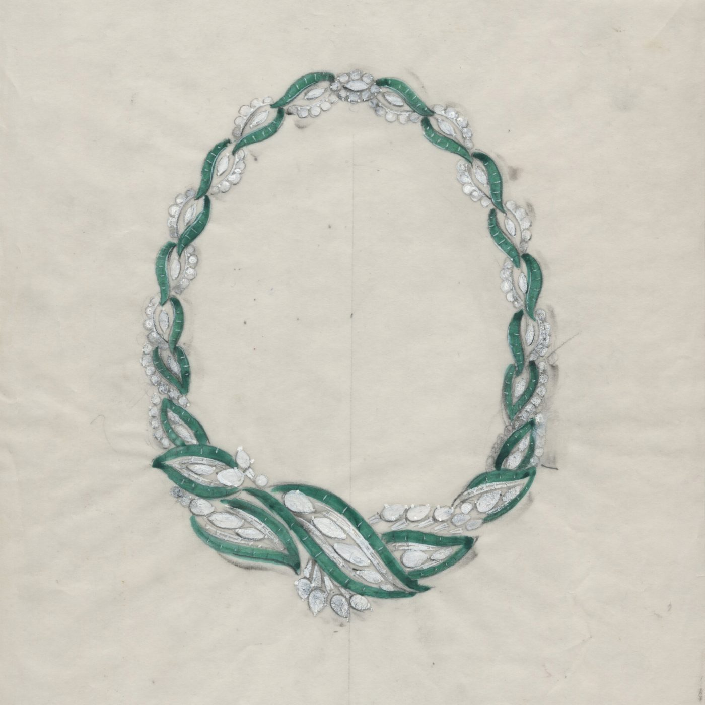 an emerald and diamond necklace first purchased in the 1950s and later given to Elizabeth Taylor by Michael Jackson