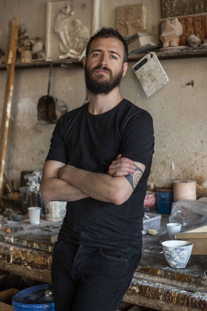 Portrait of Roberto Sironi