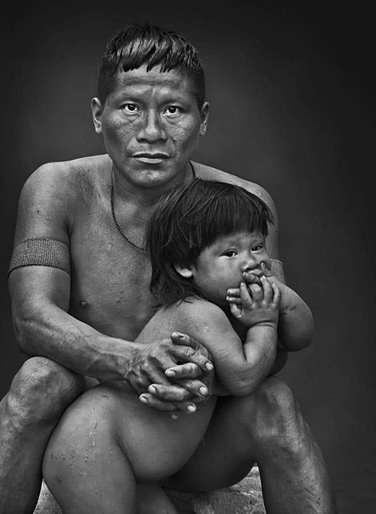 Sebastião Salgado: Korubo, Amazonas, Brazil, 2017