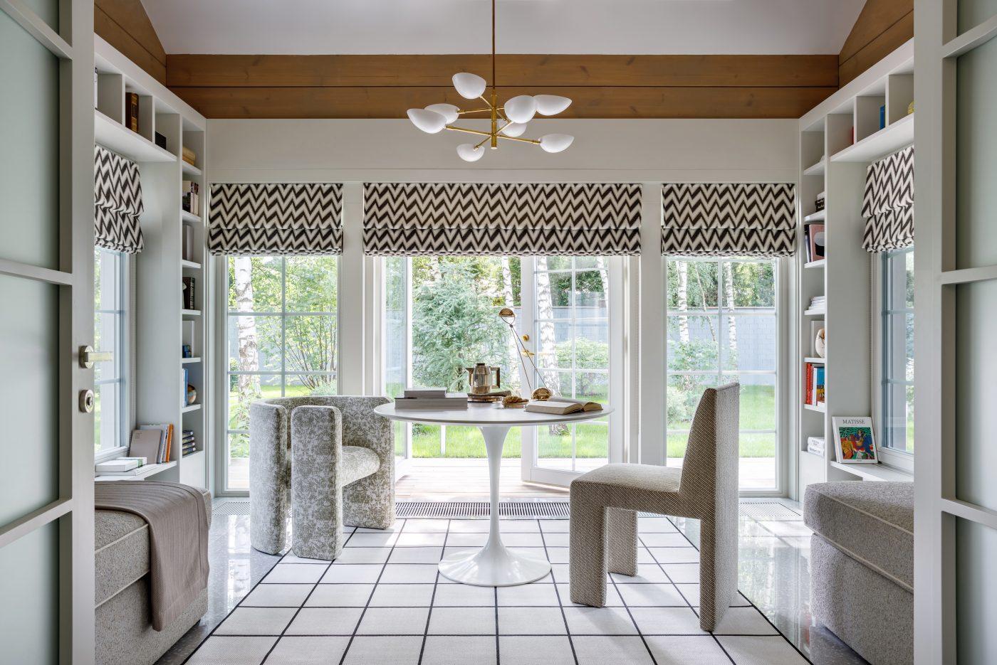 Family room designed by Malyeva