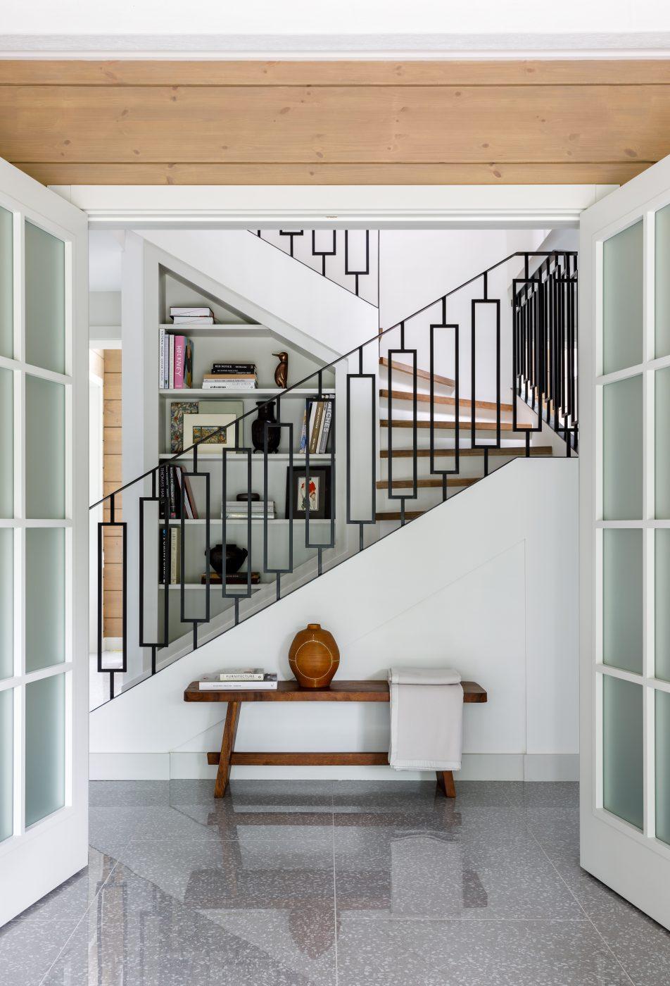 Stair hall designed by Olga Malyeva