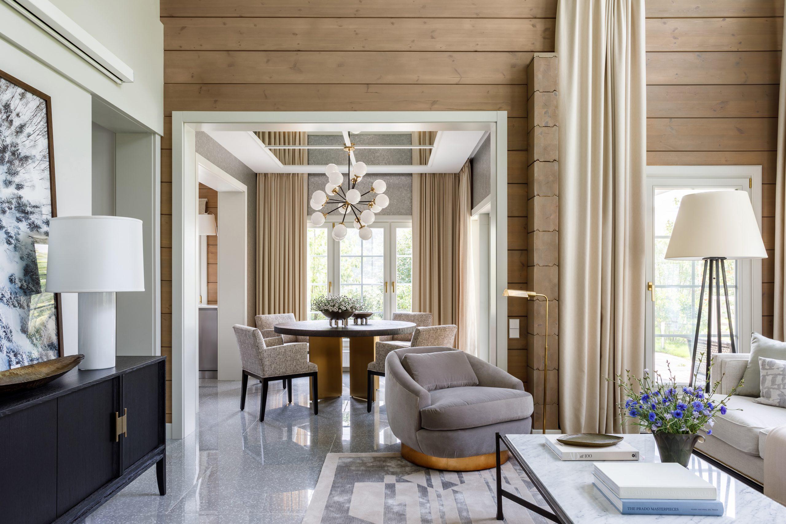 House in Moscow interior designed by Olga Malyeva