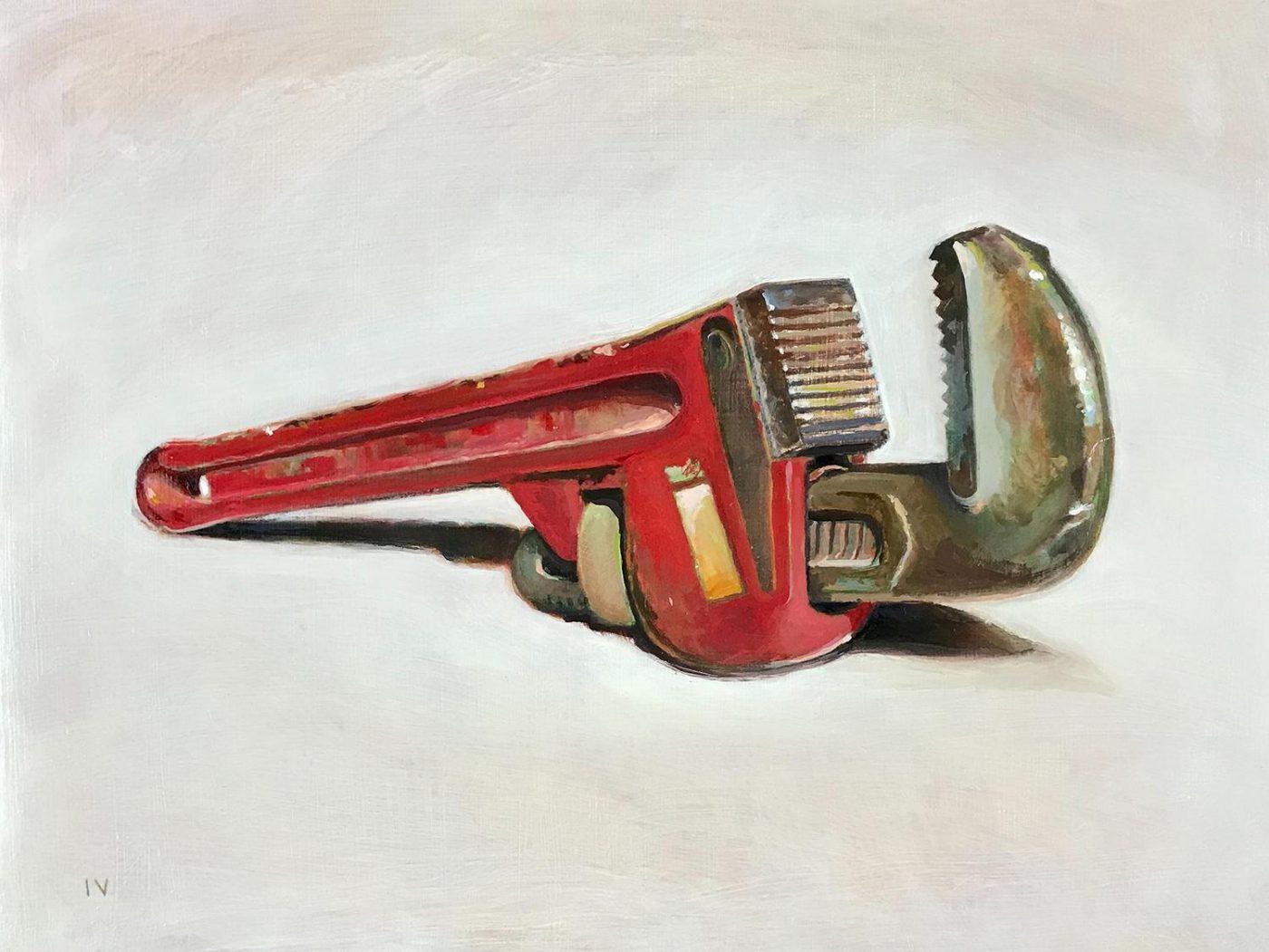 Wrench, 2020, by Matthew Hopkins