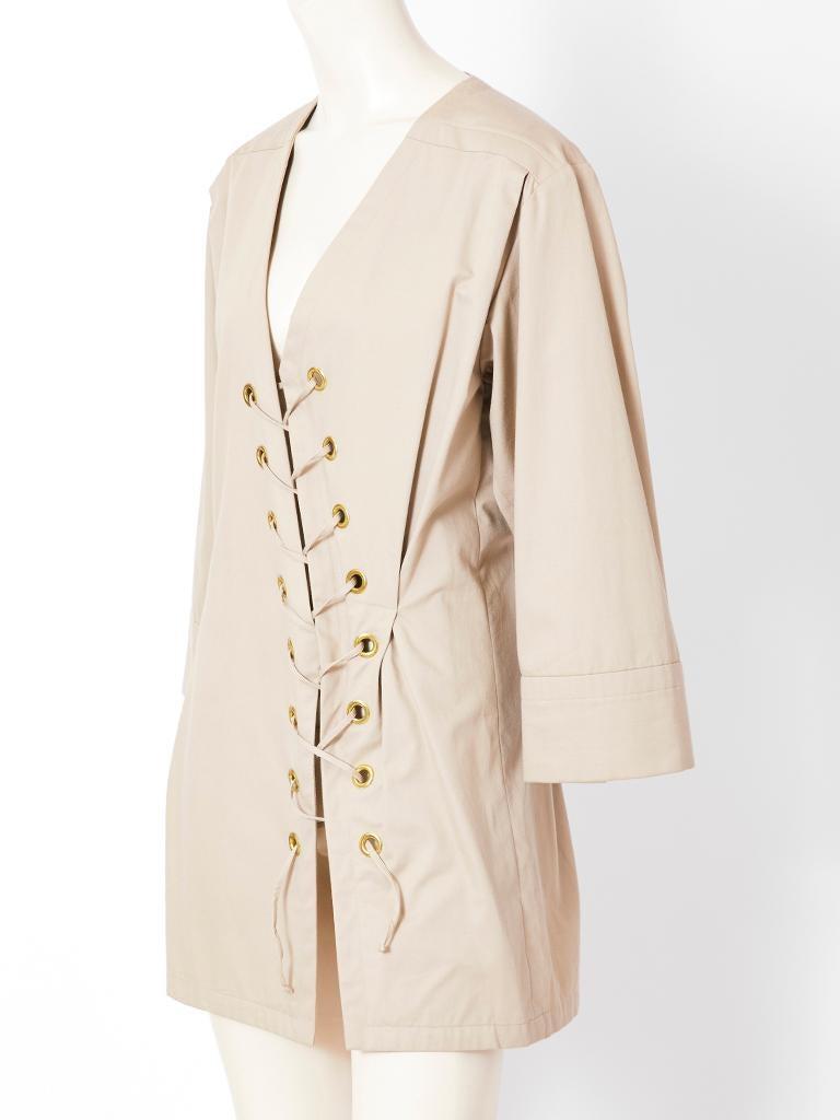 YSL Saharienne tunic
